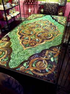 Mosaic Kitchen Table Pin By Sherry Smith On Great Ideas For The Home