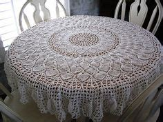 tablecloth patterns crochet pattern