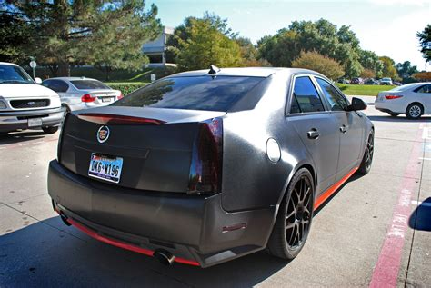 Cadillac Cts Change by Cadillac Cts Brushed Black Metallic Color Change Car