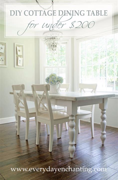 diy dining room table ideas 38 diy dining room tables diy joy