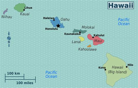 map of usa and hawaii large regions map of hawaii hawaii state usa maps of