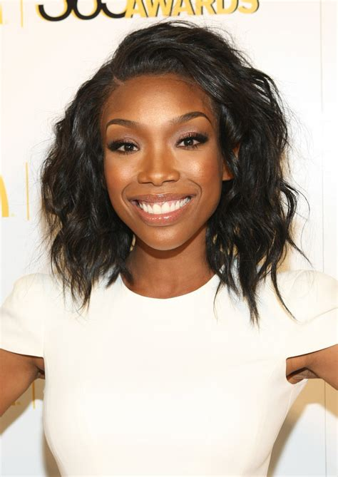 brandy norwood hairstyles brandy norwood and more beauty looks at 365black awards