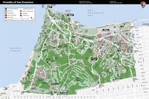 presidio map presidio of san francisco detail map presidio san