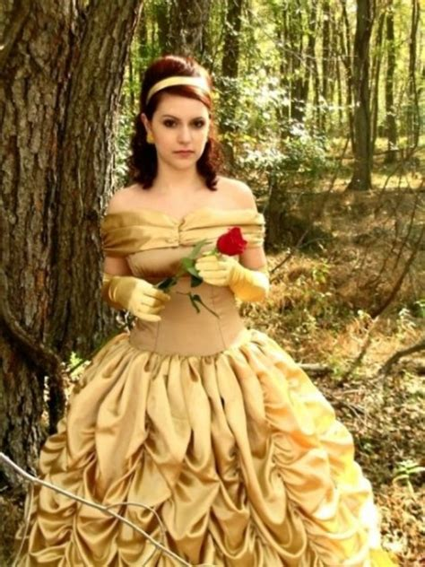 Halloween costumes disney princess beauty and the beast belle