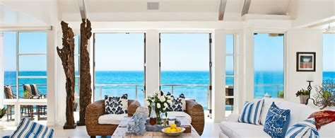 beach house look interior design بيت الشاطىء بنكهة الطبيعة الخلابة وألوانها الساحرة ملبس خان