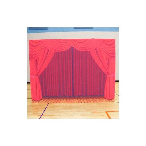 portable stage curtains red curtain portable theater backdrop self contained
