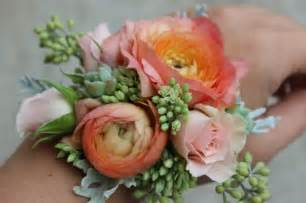 corsage colors modern wrist corsages for weddings and special occasions