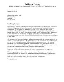 Exle Of Great Cover Letters by Cover Letter Administrative Assistant Jvwithmenow