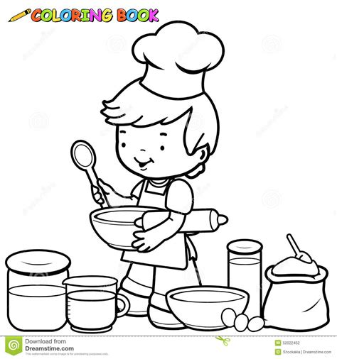 kitchen objects coloring pages kitchen objects coloring pages