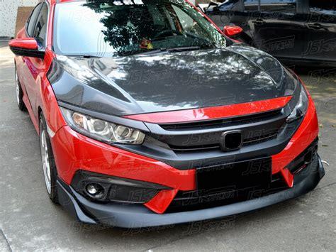 2016 civic front lip 2016 n style carbon fiber front lip for honda civic x 10th