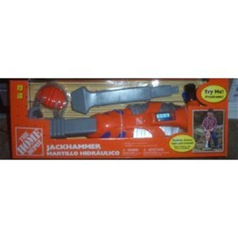 home depot electronic jackhammer child size