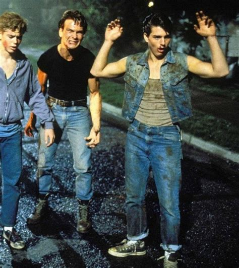 film tom cruise patrick swayze 49 best the outsiders images on pinterest stay gold