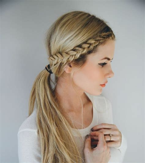 easy and simple front hairstyles 25 best ideas about front braids on pinterest front