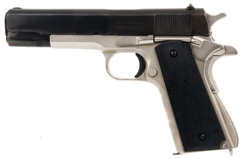 deactivated wwi us colt 1911 circa 1942