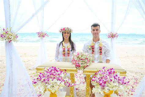 Thai Wedding by Thai Style Wedding Ceremony Packages Krabi Thailand