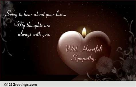 sorry for your loss quotes sorry to hear about your loss free sympathy