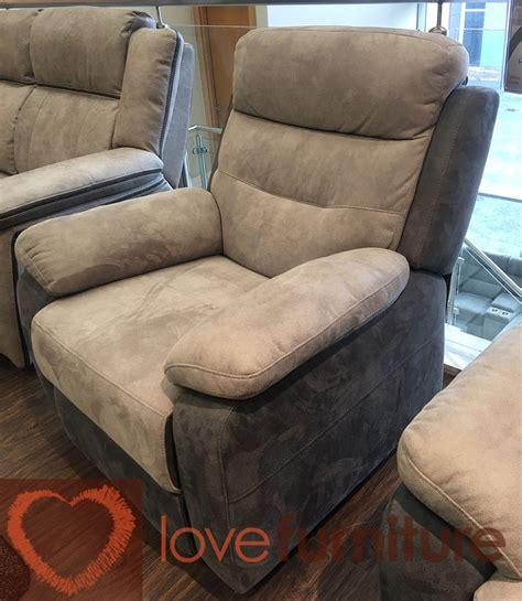 Dillons Furniture by Dillon Fabric 3 Seater Recliner Sofa 3rr