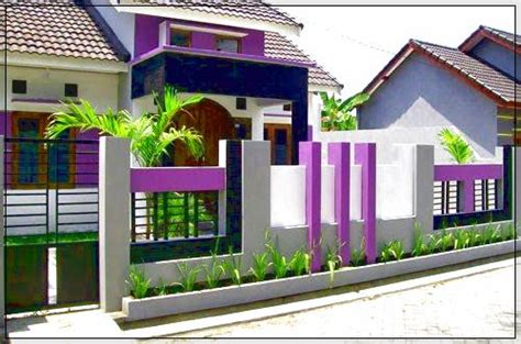 warna cat pagar rumah  bagus  serasi  rumah