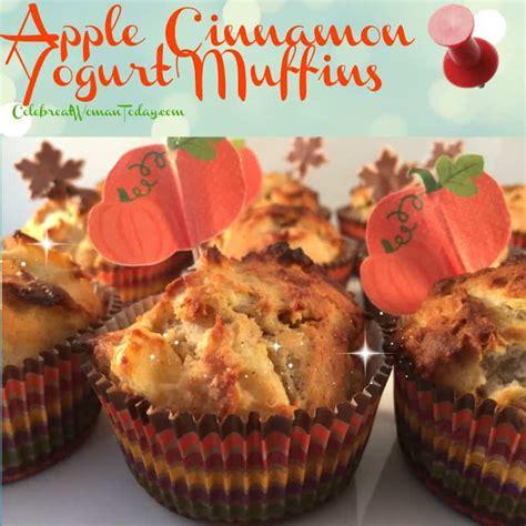 apple yogurt muffins apple cinnamon yogurt muffins recipes to warm up the