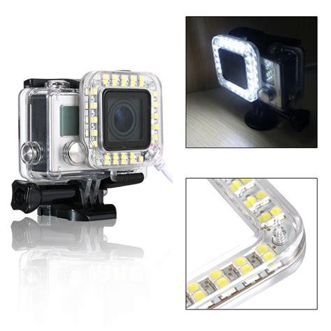 Gopro 4 Asli xcsource os246 led ring waterproof flash light for gopro 3 3 4 lazada indonesia
