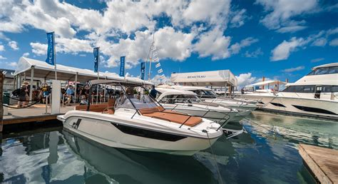 miami boat show beneteau raceix partnership to bring game changing technology to