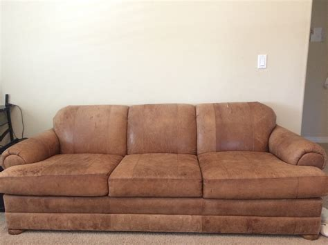 how to clean nubuck leather couch how to fix ripped nubuck