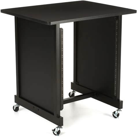 Pa System Rack Cabinet by On Stage Stands Wsr7500b Rack Cabinet Black Sweetwater
