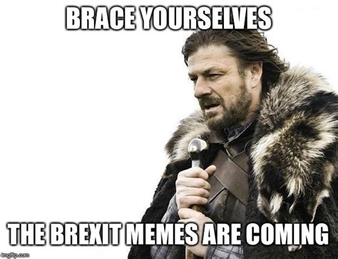 Brace Yourself Meme Generator - the brexit memes are coming imgflip