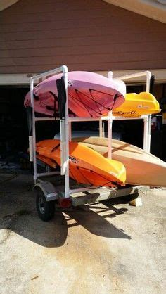 homemade kayak trailer rack fishing kayak trailer kayak storage kayak camping