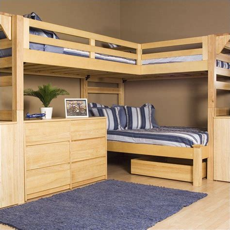 bunk bed design plans free bunk bed plans triple woodworking plans ideas ebook