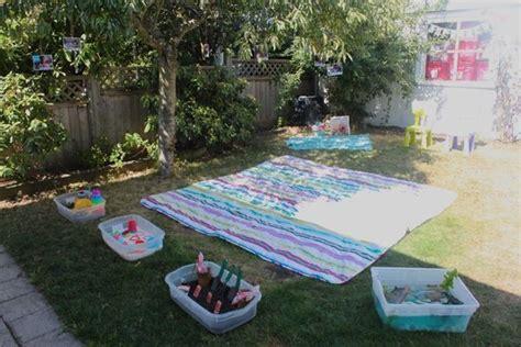 backyard 1st birthday party ideas gracen s 2nd backyard birthday bash mama papa bubba