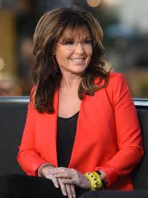 palin new hairstyle sarah palin s trump endorsement jacket is very spangly and