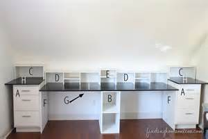 built in desk easy diy built in desk tutorial finding home farms