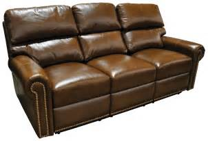 Leather Sectional Reclining Sofa Reclining Sectional Carlton Leather Furniture Leather