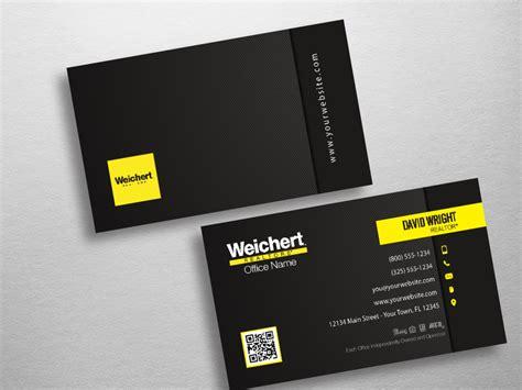 weichert business card template weichert business cards free shipping design templates