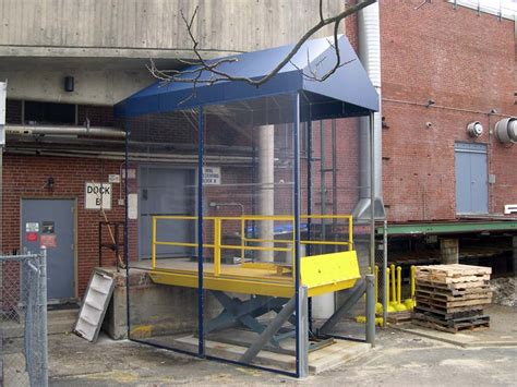 loading dock awnings commercial loading dock photos