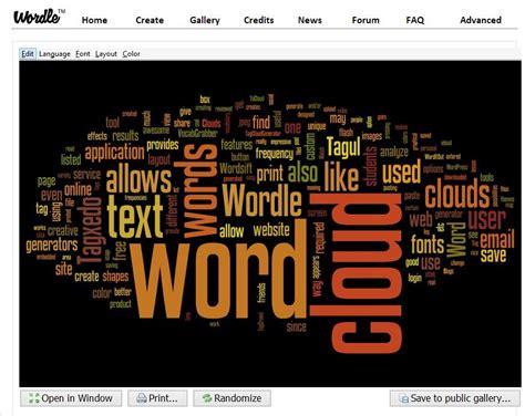 word layout generator 14 cool word cloud generators