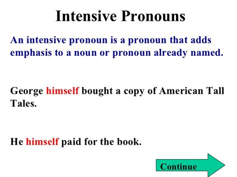 Reflexive And Intensive Pronouns Worksheet by Indefinite And Reflexive Pronouns