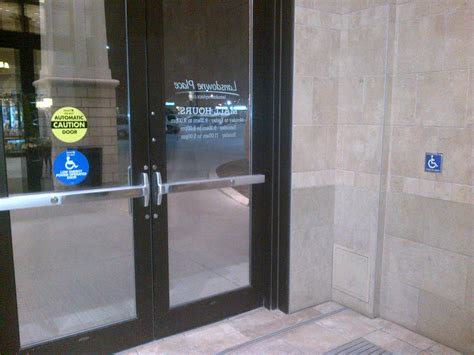 Handicap Door by Lansdowne Place Entrance Doors Accessibility In Our