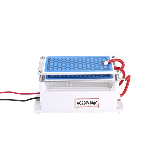 portable gh ceramic ozone generator double integrated