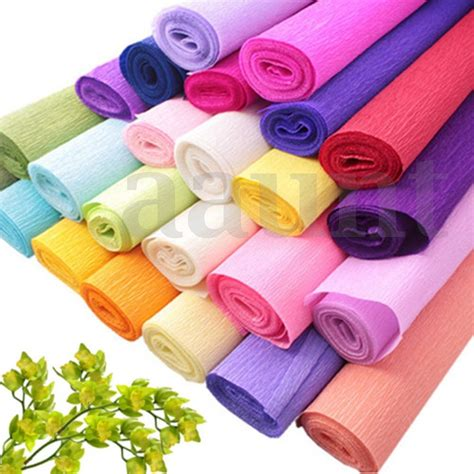 Paper Supplies - diy crepe paper wedding birthday supplies decoration