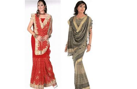 innovative saree draping styles how to wear saree wedding party saree draping tutorial