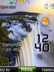 6300 themes love clock download free all categories mobile phone themes for nokia