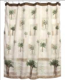 palm tree bath set tropical decor shower curtain rug