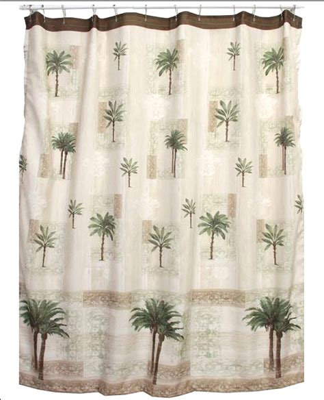 palm tree shower curtains palm tree bath set tropical decor shower curtain rug