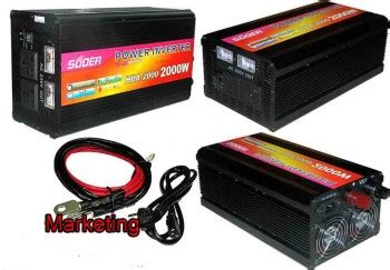 Harga Power Inverter 2000 Watt power inverter auto charger ups 2000w suoer 24v panel
