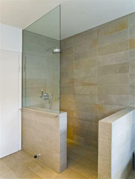 fishzero dusche mit glaswand statt fliesen - Fliesen F R Dusche