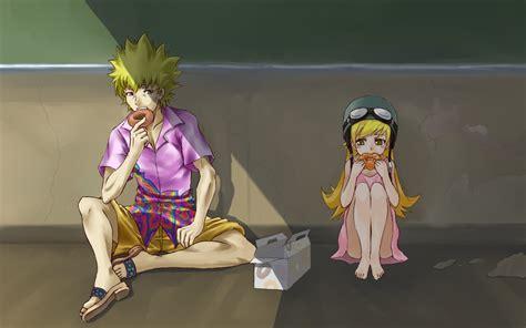 Meme Oshino - monogatari series wallpaper and background 1680x1050