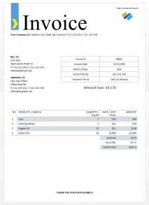 Free invoices templates download form free invoice template free