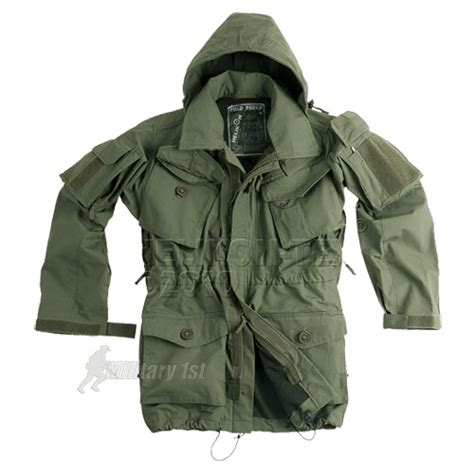 Zurrel Jaket Parka Canvas Premium Green helikon army field parka windproof jacket smock